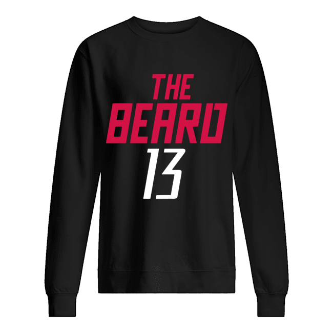 13 James Harden The Beard  Unisex Sweatshirt