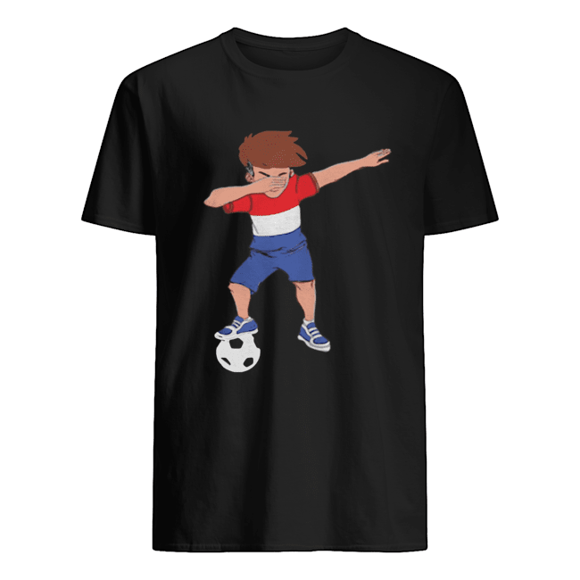 Amsterdam Dabbing Soccer Dutch Flag Football Hup Holland  Classic Men's T-shirt