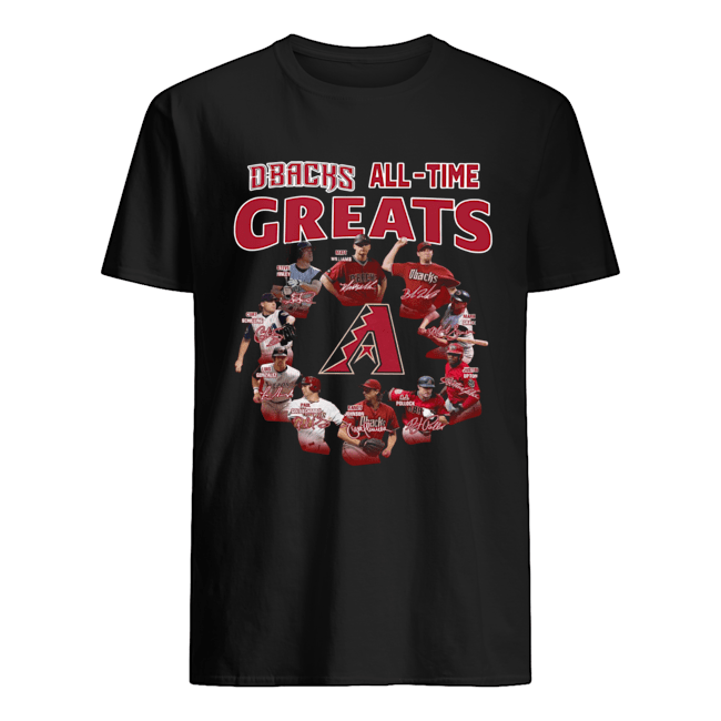 Arizona Diamondbacks all time great players signatures  Classic Men's T-shirt