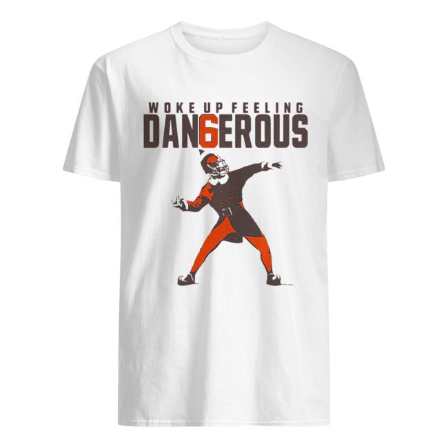 Baker Mayfield Woke up feeling dangerous  Classic Men's T-shirt