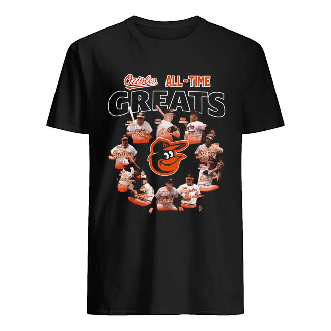 Baltimore Orioles all time great players signatures  Classic Men's T-shirt