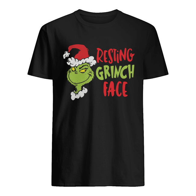 Dr Seuss Primark Resting Grinch Face  Classic Men's T-shirt