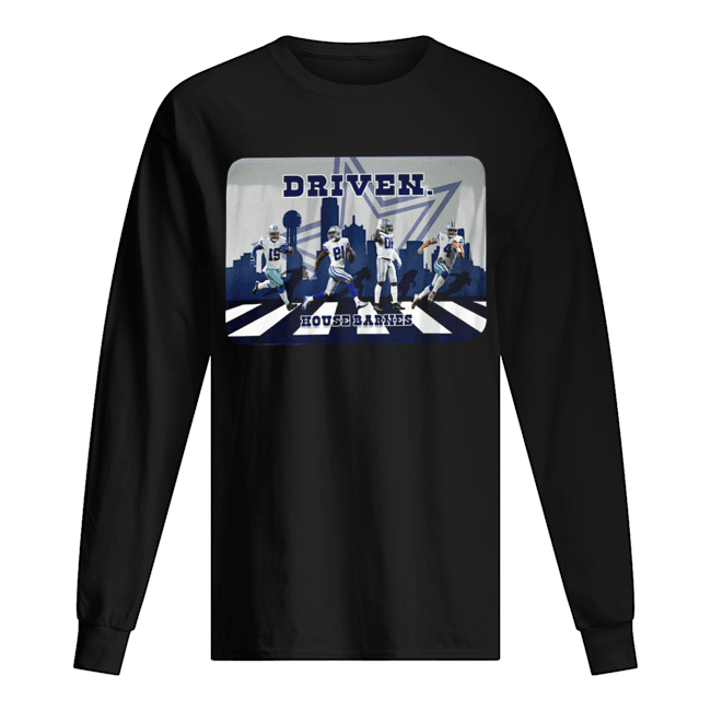 Driven Dallas Cowboys Walking Road House Barnes  Long Sleeved T-shirt