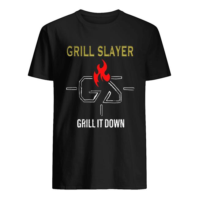 Grilling JR Grill Slayer Grill It Down  Classic Men's T-shirt