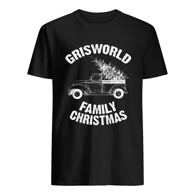 Grisworld Family Christmas  Classic Men's T-shirt