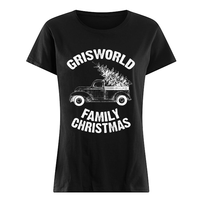 Grisworld Family Christmas  Classic Women's T-shirt