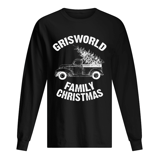 Grisworld Family Christmas  Long Sleeved T-shirt