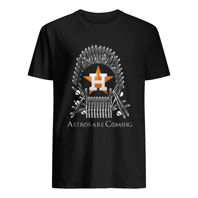 Houston Astros Are Coming Game Of Throne  Classic Men's T-shirt