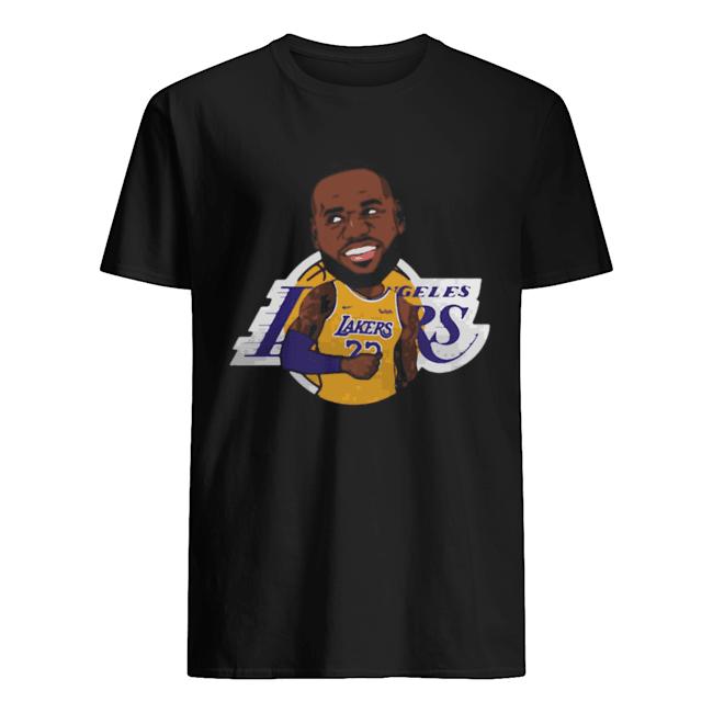 LeBron James Chibi Los Angeles Lakers  Classic Men's T-shirt