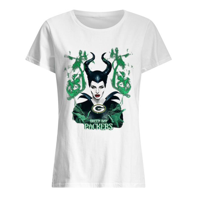 Maleficent Green Bay Packers  Classic Women's T-shirt