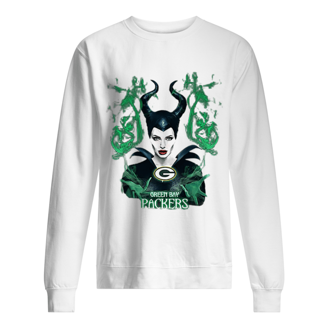 Maleficent Green Bay Packers  Unisex Sweatshirt