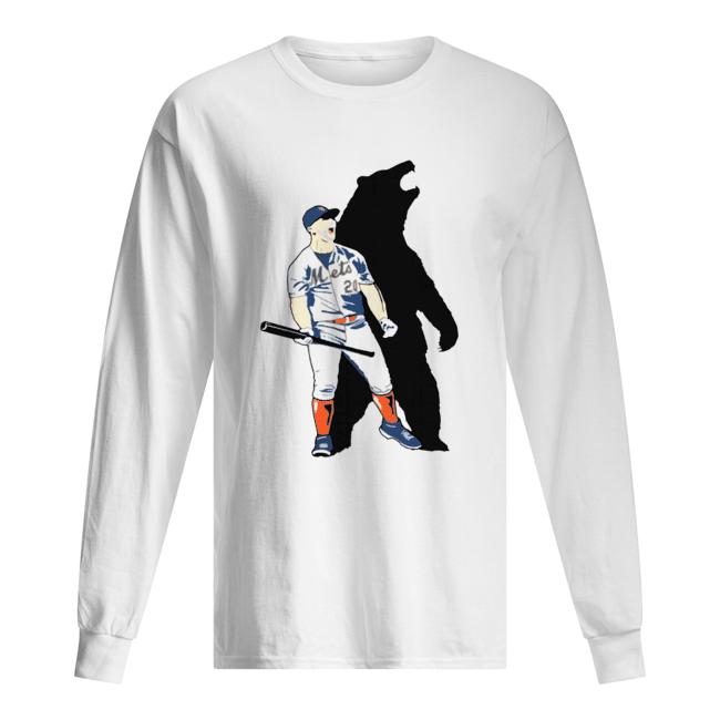 Pete Alonso Polar Bear 20  Long Sleeved T-shirt