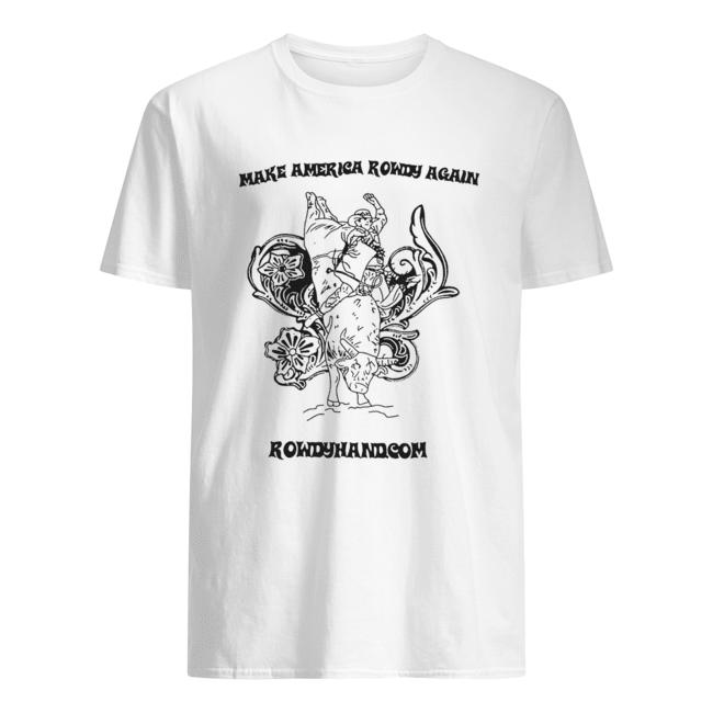 Rowdy Hand Co Make America Rowdy Again  Classic Men's T-shirt