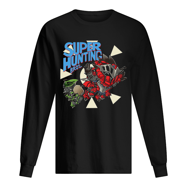 Super hunting bros  Long Sleeved T-shirt