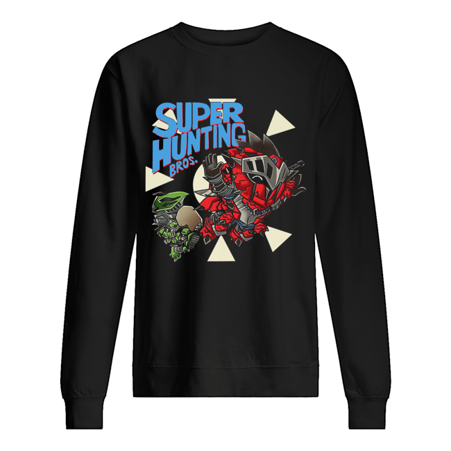 Super hunting bros  Unisex Sweatshirt