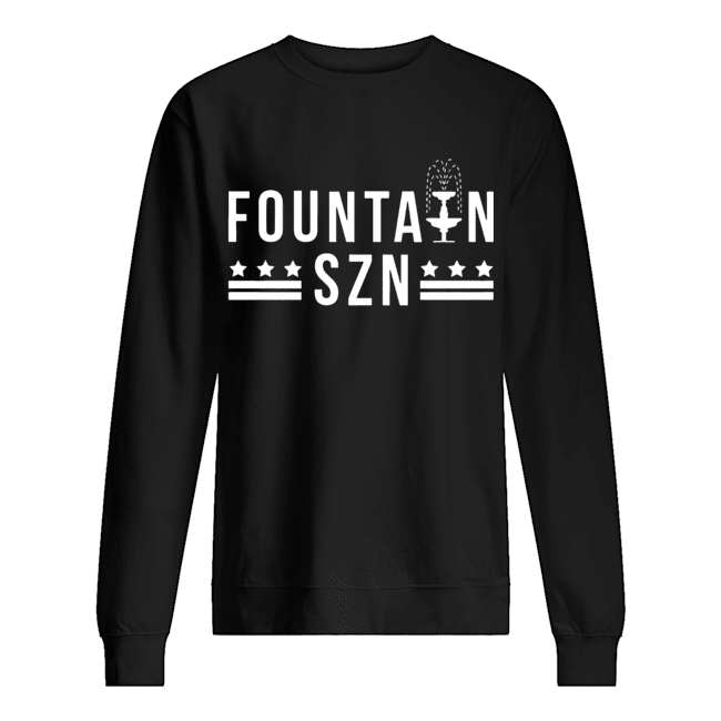Washington Nationals Champion Fountain Szn  Unisex Sweatshirt