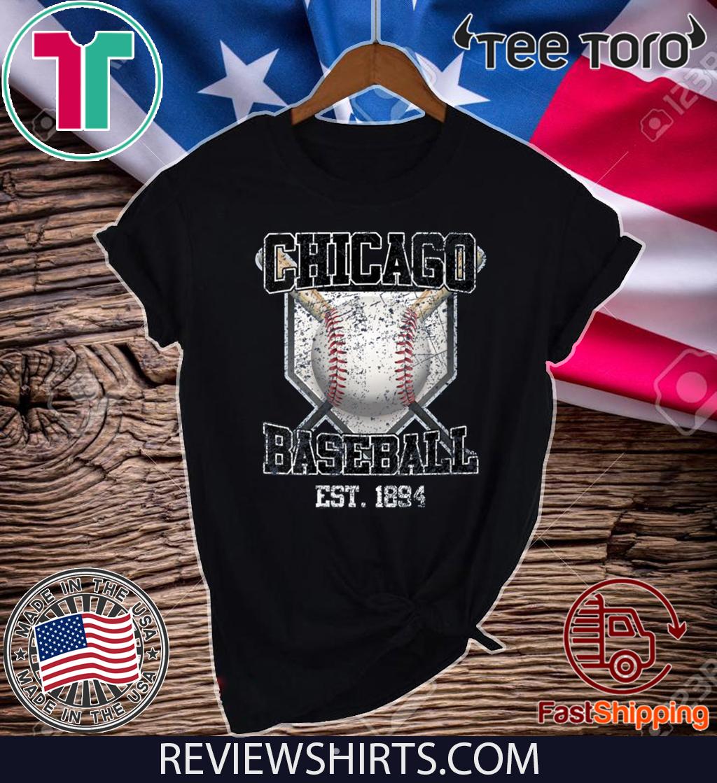 Vintage Chicago Baseball Est 1894 Shirt T-Shirt