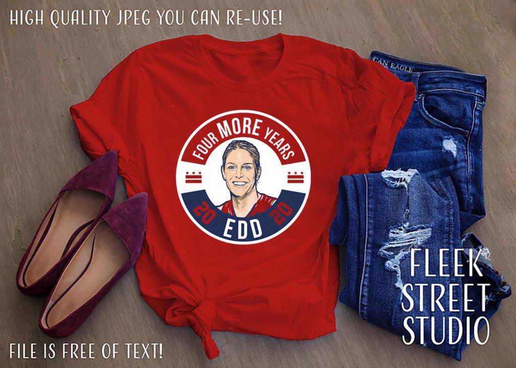 EDD: Four More Years Shirt - WNBPA T-Shirt
