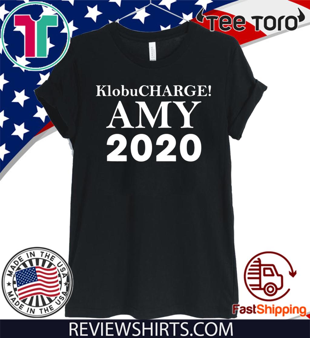 Klobucharge! Amy Klobuchar 2020 President America Tee Shirt