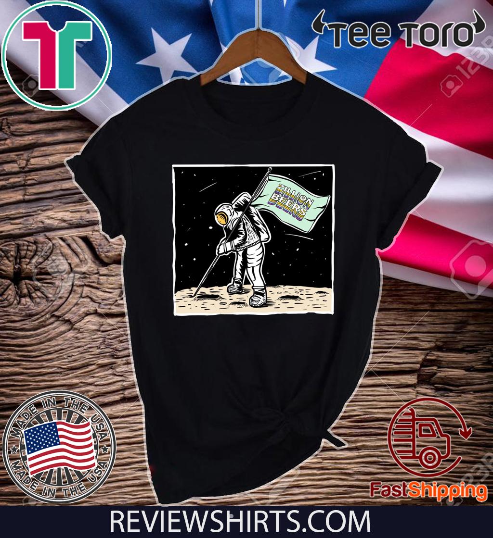 Zillion Beers Moon Man Tee Shirt