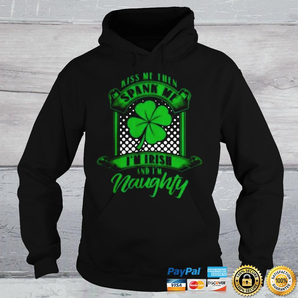 Cool Apparel Shop Spank ME im Irish and Very Naughty Sweatshirt Royal Blue