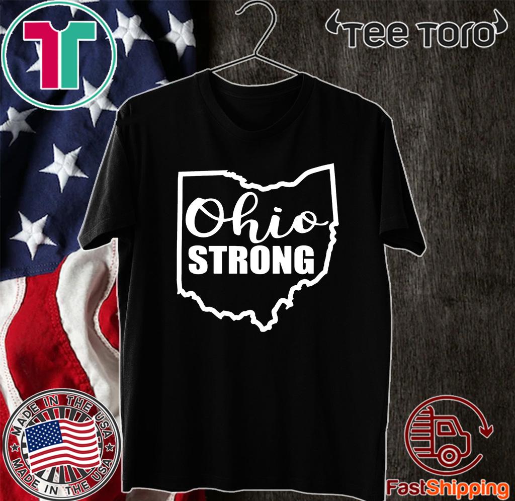 OHIO Unisex Cotton T-Shirt Tee Shirt united states usa patriot