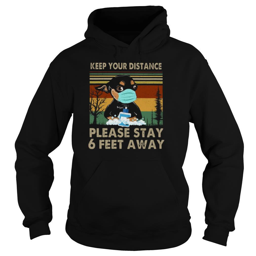 Keep Your Distance Chihuahua Vintage shirt