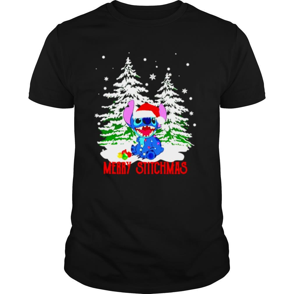 Stitch santa merry stitchmas Christmas shirt