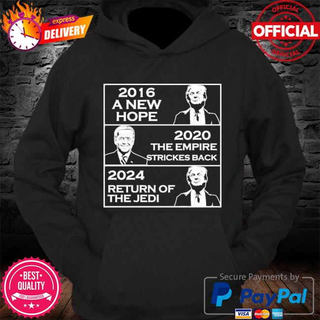 2016 a new hope 2021 the empire strikes back 2024 return of the jedi s Hoodie