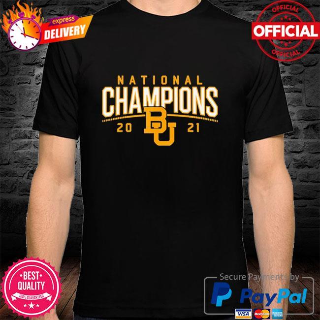 Baylor Bears national champions 2021 shirt