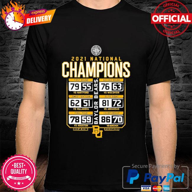 Baylor national championship 2021 shirt
