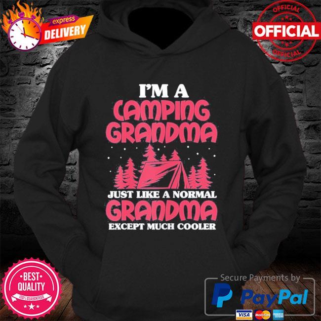 Camping grandma I'm a camping grandma mother's day us 2021 s Hoodie