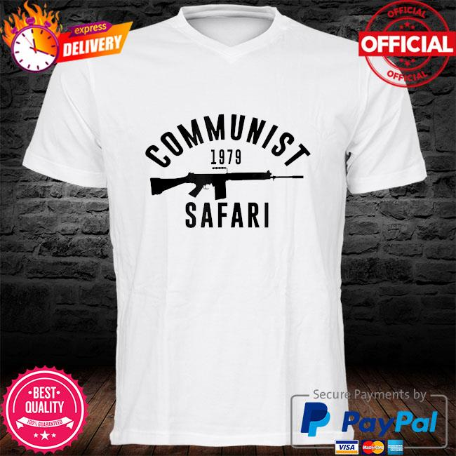 Communist 1979 safari shirt