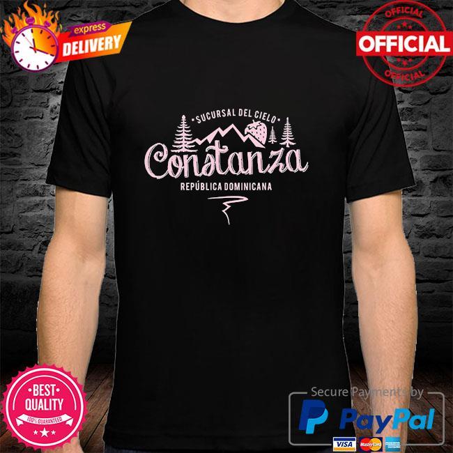 Constanza la vega dominican republic souvenir shirt