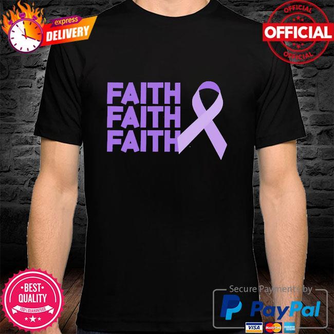 Faith faith faith domestic violence awareness shirt