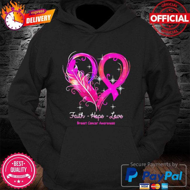 Faith hope love faith hope love breast cancer awareness s Hoodie
