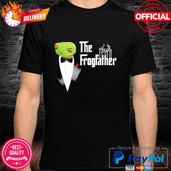 Frog father or frogfather for frogs fan frog lovers shirt
