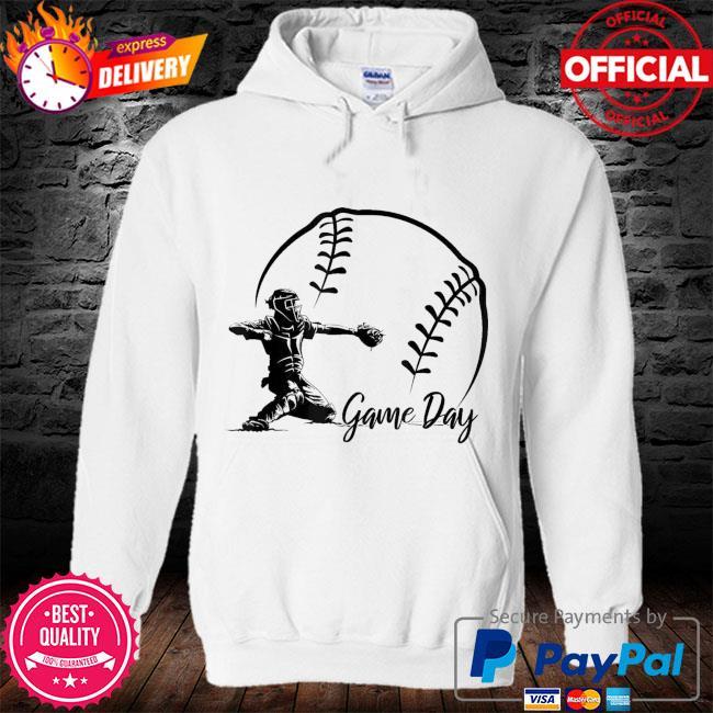 Game day baseball softball life s hoodie