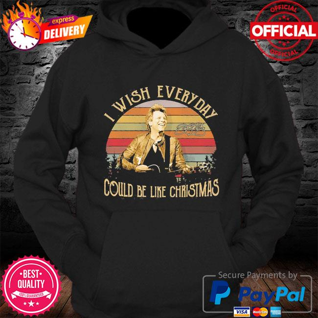 I wish everyday could be like christmas vintage s Hoodie