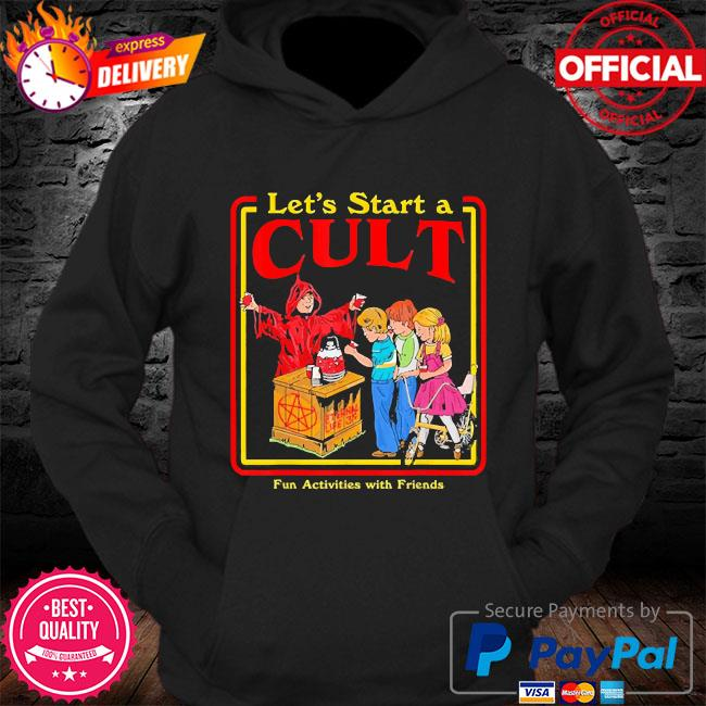 Let's start a cult satanic vintage horror edgy s Hoodie