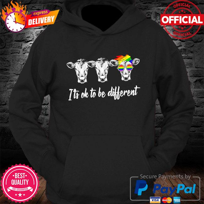 LGBT Cows it's ok to be different s Hoodie