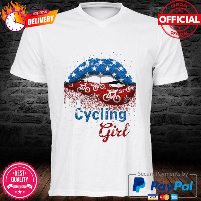 Lips Cycling Girl shirt