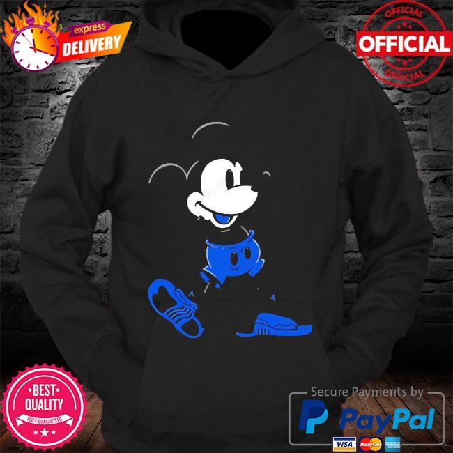 Mickey mouse Jordan 12 game royal matching s Hoodie