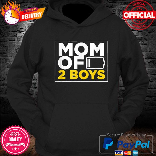 Mom of 2 boys shirt mothers day us 2021 s Hoodie