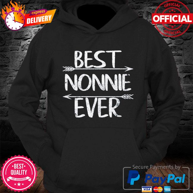 Mother's day grandma gift best nonnie ever s Hoodie