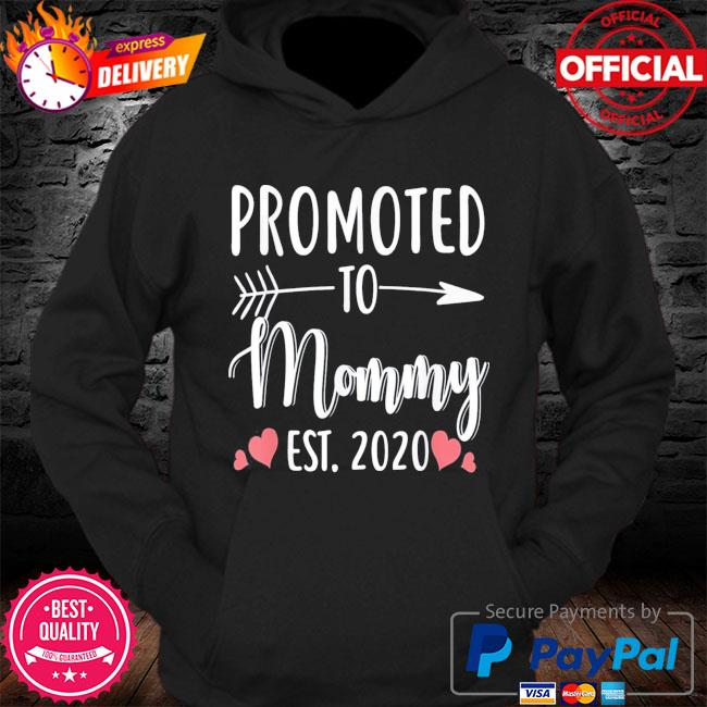 Mother's day promoted to mommy est 2021 s Hoodie