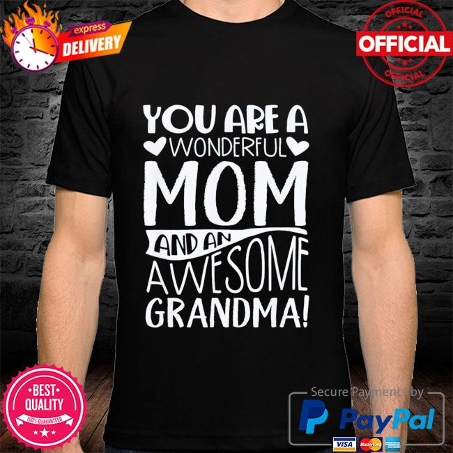 Mothers day grandma mother in law shirt