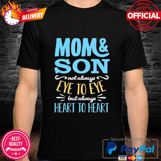 Mothers day shirt from son mom partnerlook shirt