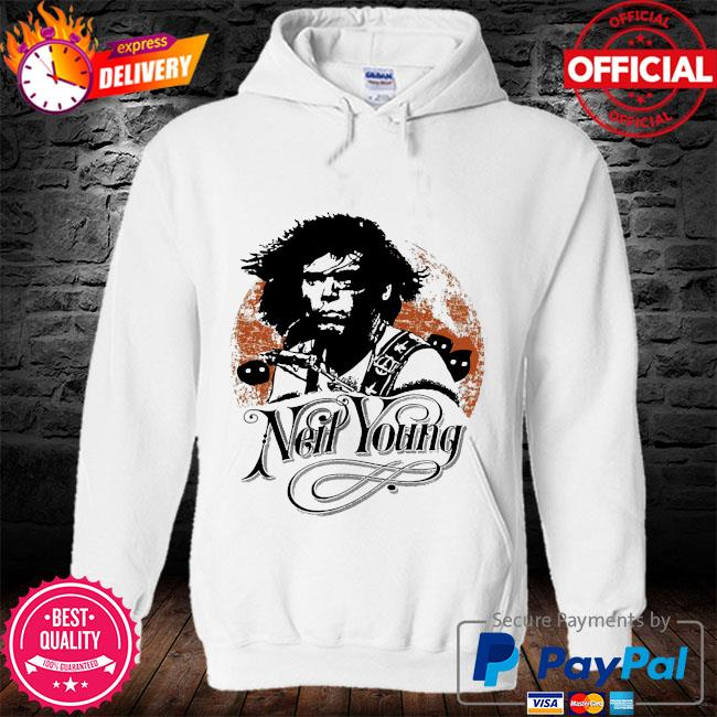 Neil young canadian rocker s hoodie