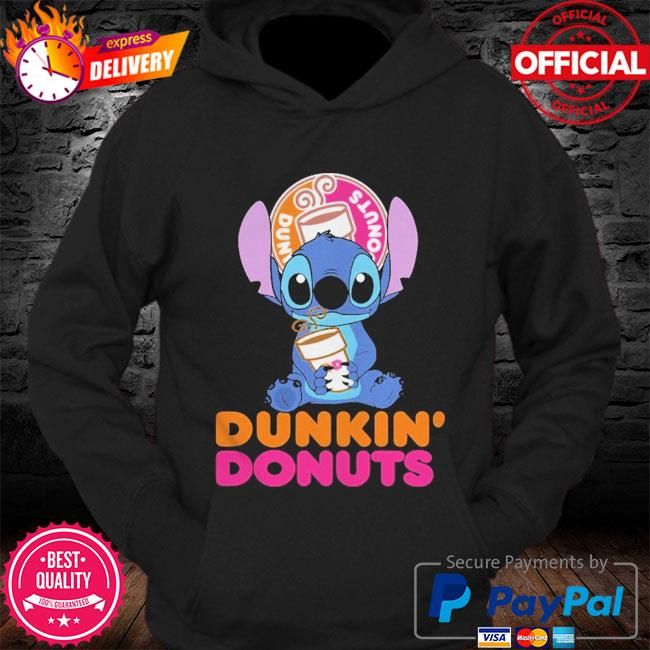 Official Baby stitch hug Dunkin' Donuts 2021 s Hoodie
